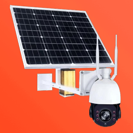 3G Solar Powered CCTV Camera