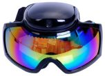 Ski goggles with built-in 5MP hidden spy camera
