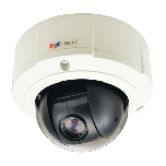 ACTi B97 3MP Outdoor Mini PTZ Dome Camera with D/N, Superior WDR and 10x Zoom Lens