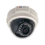 ACTi E58 2MP Indoor Dome with D/N, Adaptive IR, Basic WDR, SLLS, Fixed lens PoE IP dome camera