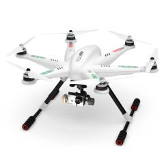 Walkera QR TALI H500 GPS Drone with DEVOF12E remote, G-3D gimbal, GoPro cable, TX5804, Mushroom antenna