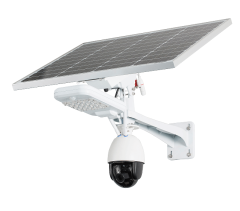 2.0MP 4G PTZ control 22x zoom, no-glow IR LED waterproof outdoor real time video streaming solar CCTV camera with lithium ion battery with 3000 lumens LED light