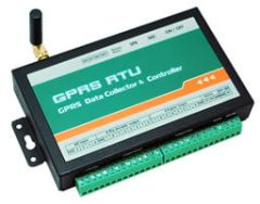 CWT5111 GPRS RTU GSM alarm and controller 8DI, 8DO, 4AI, GPRS, SMS control
