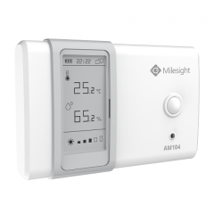 Milesight AM104-915M LoRaWAN Indoor Ambience Monitoring Sensor for measuring temperature, humidity, motion and light