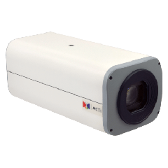 ACTi B210 10MP Zoom Box with D/N, Basic WDR, 10x Zoom lens PoE IP Zoom box camera