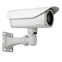 ACTi B410 10MP Zoom Bullet with D/N, Adaptive IR, Basic WDR, 10x Zoom lens PoE IP bullet camera