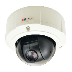 ACTi B95 2MP Outdoor Mini PTZ Dome Camera with D/N, Basic WDR, SLLS and 10x Zoom Lens