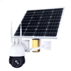 SP935-5X 2.0MP 4G PTZ control 5x zoom, no-glow IR LED waterproof outdoor real time video streaming solar CCTV camera with lithium ion battery