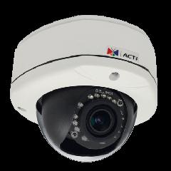 ACTi D82A 3MP Outdoor Dome Camera with D/N, IR and a Vari-focal Lens