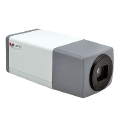 ACTi E223 1.3MP Zoom Box with D/N, Superior WDR, 10x Zoom lens IP Zoom box camera