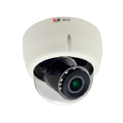 ACTi E610 10MP Indoor Dome with D/N, Adaptive IR, Basic WDR, Vari-focal lens PoE IP dome camera