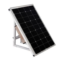 100W Solar Power Panel with 60AH lithium-ion battery for 4G IP cameras