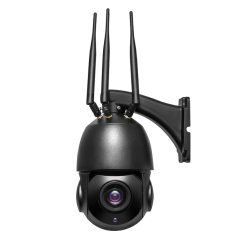 SP935B-5-5X 5.0MP 4G WiFi 5 inch PTZ control 5x zoom, no-glow IR LED waterproof outdoor real time video streaming CCTV camera