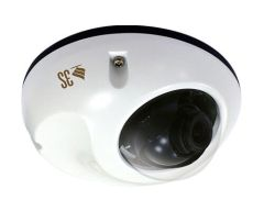 3S Vision N9012 5 Megapixel/H.264/1080P Real-Time/For Transportation vandalproof IP mini dome camera