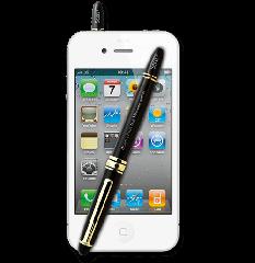 Secu-Plus smartphone bug blocking device and pen