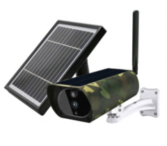 SP210C 2MP 4G Dual Solar Panel Camouflage Outdoor Security Camera with 10400mAh Battery