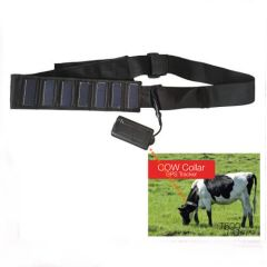 T5010S solar GPS livestock tracker collar with 10000mA battery built-in