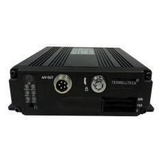 TS-830D-AHD Mini Functional 4CH AHD 720P normal SD MDVR Max 2*128GB with Built-in G-sensor