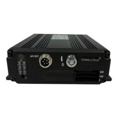 TS-830-AHD Mini Economical 4CH AHD 720P SD MDVR Max 2*128GB with Built-in G-sensor