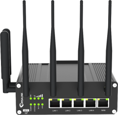 Milesight UR75 -500X-W-G 5G WiFi GPS enabled Industrial Router
